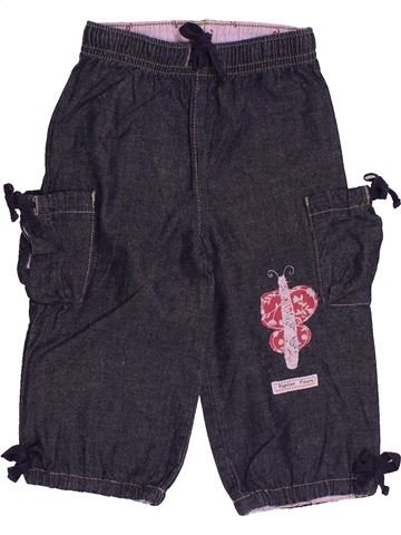 Pantalon fille DPAM bleu 12 mois été #1543977_1