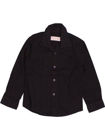 Chemise manches longues garçon ZARA noir 3 ans hiver #1544018_1