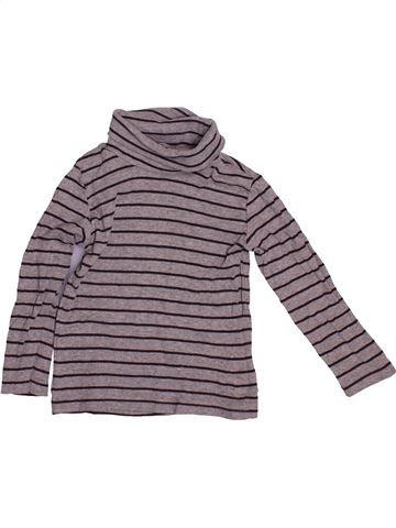 T-shirt col roulé garçon GEMO gris 3 ans hiver #1544099_1