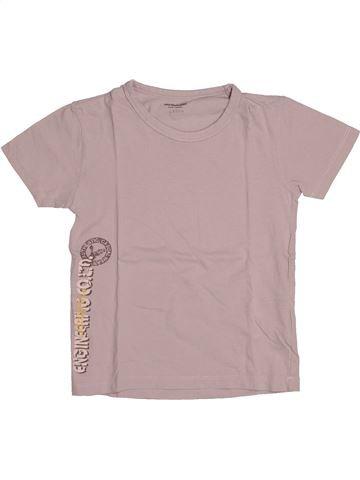 T-shirt manches courtes garçon VERTBAUDET beige 8 ans été #1544267_1