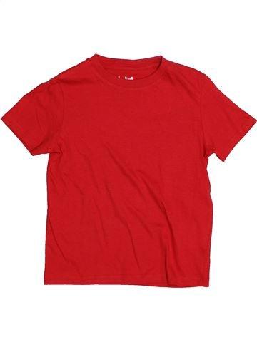 T-shirt manches courtes garçon LH BY LA HALLE rouge 6 ans été #1544354_1