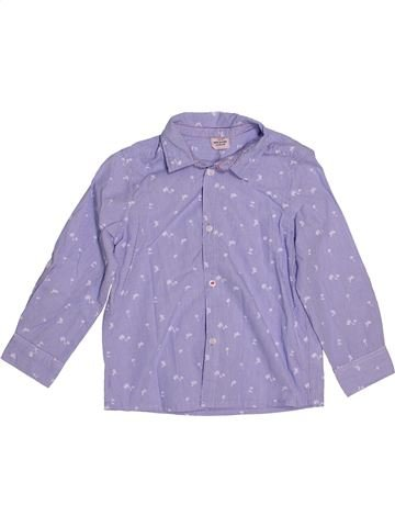 Chemise manches longues garçon TAPE À L'OEIL violet 4 ans hiver #1544361_1