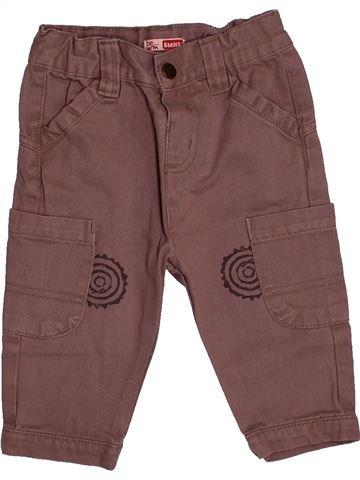 Pantalon garçon DPAM violet 6 mois été #1544648_1