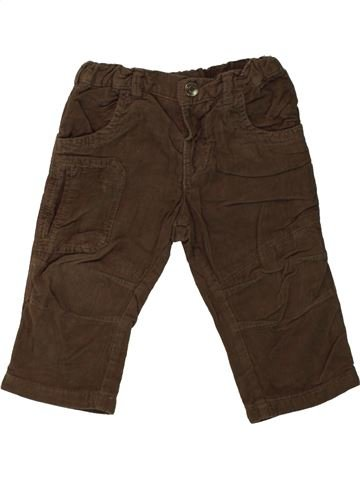 Pantalon garçon JBC marron 12 mois hiver #1545782_1