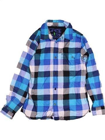 Chemise manches longues garçon LINDEX bleu 11 ans hiver #1545928_1