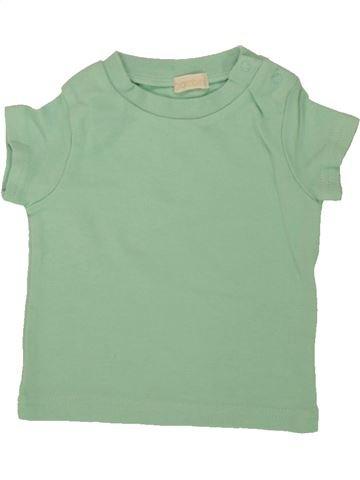 T-shirt manches courtes garçon BHS vert 6 mois été #1546149_1