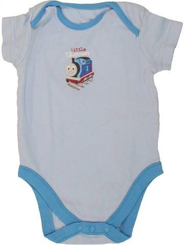 T-shirt manches courtes garçon THOMAS & FRIENDS bleu 6 mois été #1546585_1
