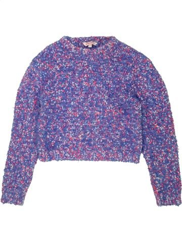 Pull fille PEACOCK'S violet 10 ans hiver #1546928_1