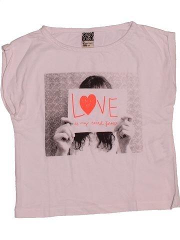 T-shirt manches courtes fille TAPE À L'OEIL rose 3 ans été #1547113_1