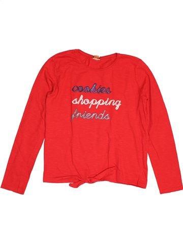 T-shirt manches longues fille TAPE À L'OEIL rouge 14 ans hiver #1547804_1
