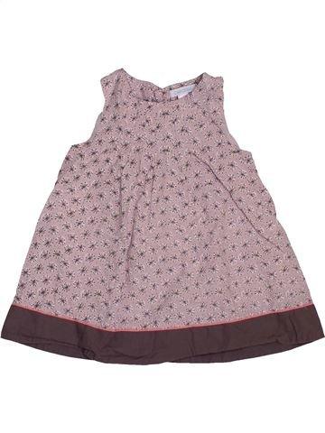 Robe fille OKAIDI violet 6 mois été #1547841_1