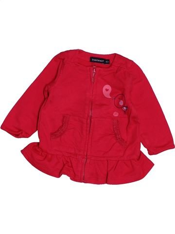 Sweat fille IN EXTENSO rouge 3 mois hiver #1547908_1