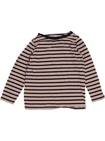 T-shirt manches longues garçon LE PETIT MARCEL gris 6 ans hiver #1547963_1