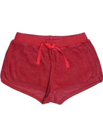Short - Bermuda fille PETIT BATEAU rouge 8 ans été #1548035_1