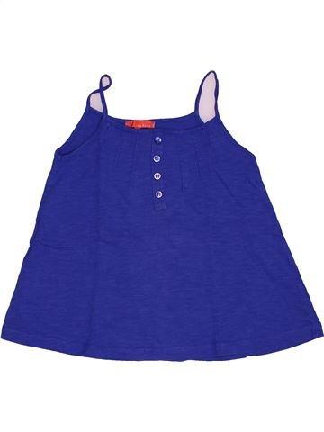 T-shirt sans manches fille LISA ROSE bleu 8 ans été #1548202_1