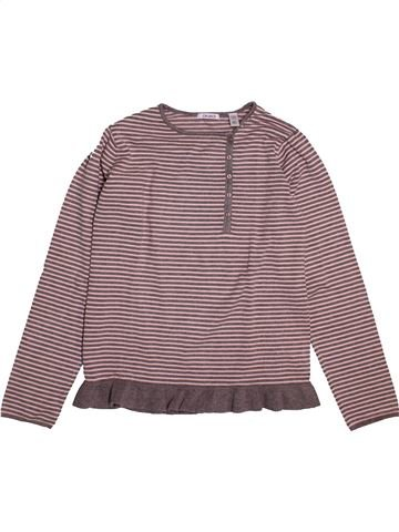 Pull fille OKAIDI gris 14 ans hiver #1548312_1