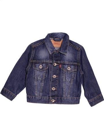 Veste garçon LEVI'S bleu 3 ans été #1549598_1