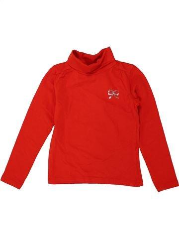 Camiseta de cuello alto niña JBC rojo 4 años invierno #1550809_1