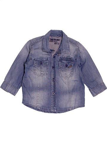 Chemise manches longues garçon TIMBERLAND gris 12 mois hiver #1551298_1