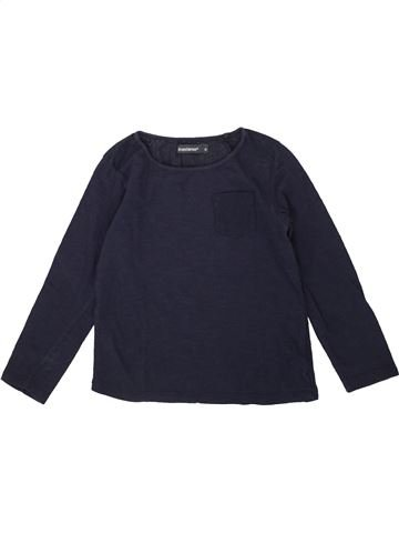 T-shirt manches longues fille IN EXTENSO bleu 4 ans hiver #1551484_1
