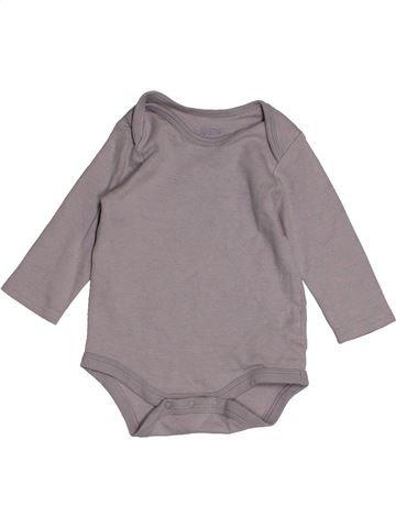 Camiseta de manga larga niño MAMAS & PAPAS gris 6 meses invierno #1552353_1