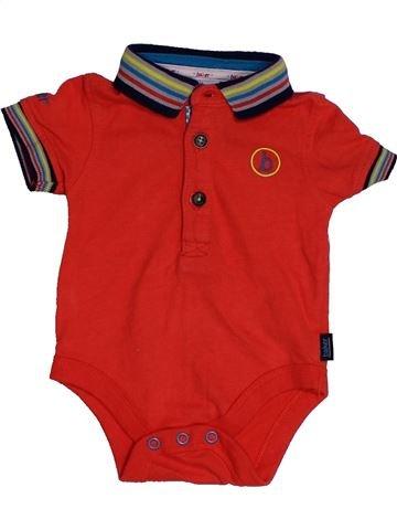 Polo manches courtes garçon TED BAKER rouge 1 mois été #1552669_1