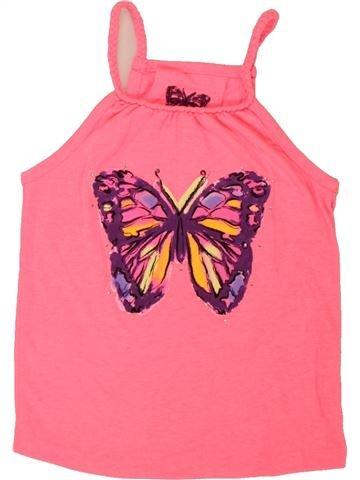 T-shirt sans manches fille YOUNG DIMENSION rose 6 ans été #1555543_1