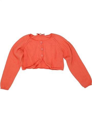 Boléro fille LILI GAUFRETTE orange 5 ans hiver #1556190_1