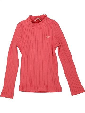 T-shirt manches longues fille LILI GAUFRETTE rose 5 ans hiver #1556215_1