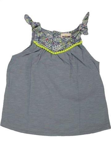 T-shirt sans manches fille TAPE À L'OEIL gris 9 mois été #1556260_1