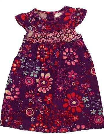 Robe fille M&CO violet 18 mois hiver #1556892_1