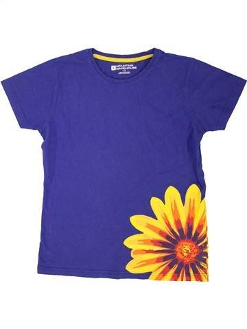 T-shirt manches courtes fille MOUNTAIN WAREHOUSE violet 12 ans été #1557108_1