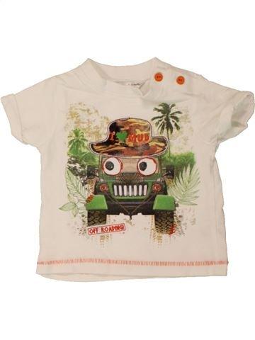T-shirt manches courtes garçon M&CO bleu 6 mois été #1557221_1