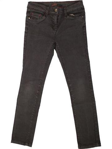 Pantalon fille TAPE À L'OEIL marron 8 ans hiver #1557536_1