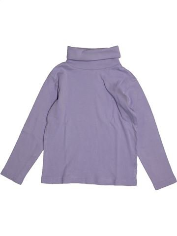 T-shirt col roulé garçon OKAIDI gris 5 ans hiver #1557980_1