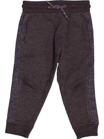 Pantalon garçon TAPE À L'OEIL marron 3 ans hiver #1559153_1