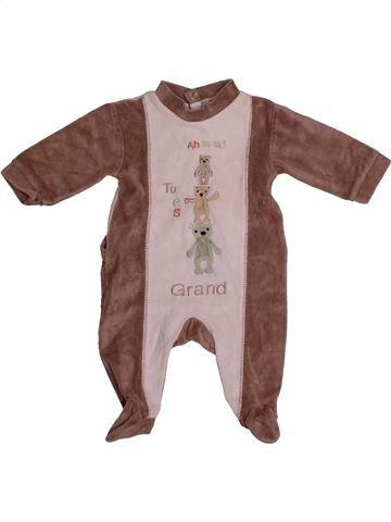 Pijama de 1 pieza niño IN EXTENSO violeta 1 mes invierno #1559677_1