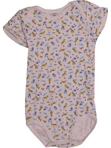 T-shirt manches courtes garçon PETIT BATEAU rose 3 ans été #1560203_1