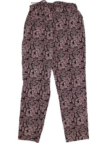 Pantalon fille U COLLECTION gris 8 ans été #1560275_1