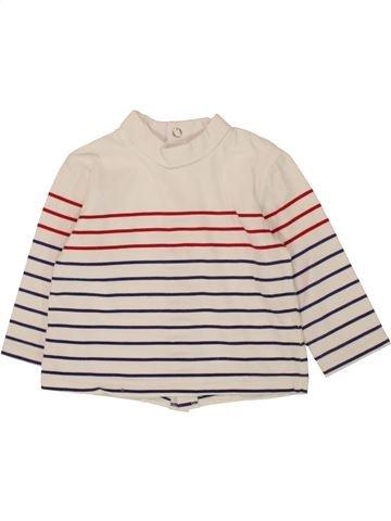T-shirt col roulé garçon SUCRE D'ORGE bleu 9 mois hiver #1560323_1