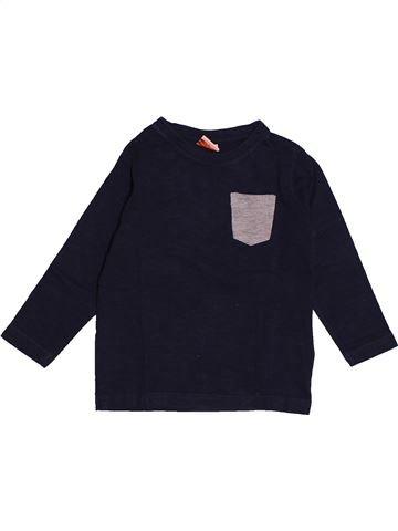 T-shirt manches longues garçon TAPE À L'OEIL noir 3 ans hiver #1560461_1