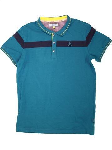 Polo manches courtes garçon TED BAKER bleu 13 ans été #1560494_1
