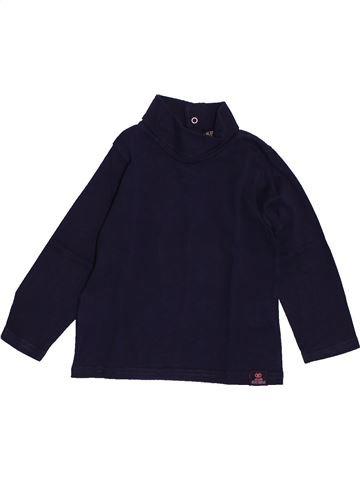 T-shirt col roulé garçon TAPE À L'OEIL noir 2 ans hiver #1560752_1
