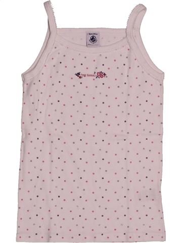 T-shirt sans manches fille PETIT BATEAU rose 8 ans été #1560892_1