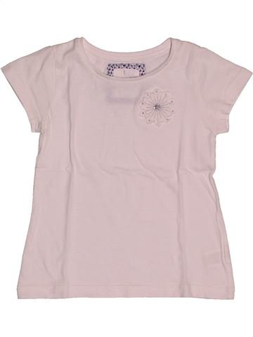 T-shirt manches courtes fille TEX rose 4 ans été #1560947_1