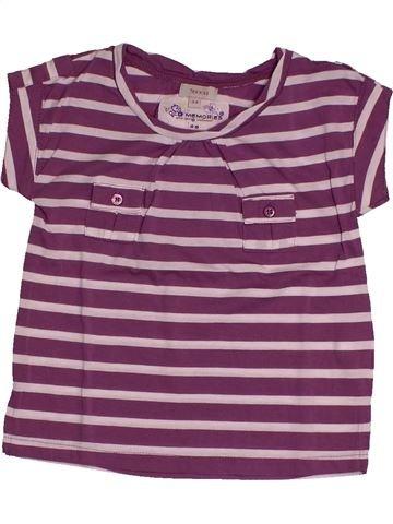 T-shirt manches courtes fille TEX rose 4 ans été #1560951_1