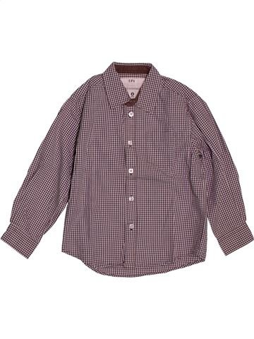 Camisa de manga larga niño CFK violeta 4 años invierno #1561396_1