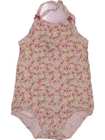 T-shirt sans manches fille PETIT BATEAU rose 3 ans été #1561478_1