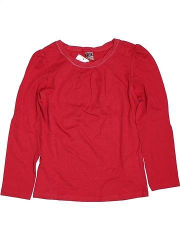 T-shirt manches longues fille TAPE À L'OEIL rouge 8 ans hiver #1561533_1