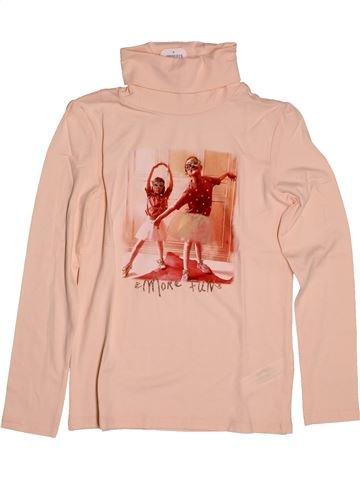 T-shirt col roulé fille TAPE À L'OEIL rose 10 ans hiver #1561543_1